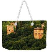 View Of The Alhambra In Spain Weekender Tote Bag