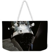 View Of The Apollo 17 Command Weekender Tote Bag