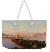 View Of The Bay Of Naples Weekender Tote Bag