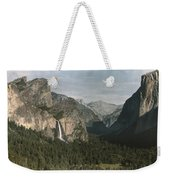 View Of The Mountain El Capitan Weekender Tote Bag