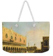 View Of The Piazzetta San Marco Looking South Weekender Tote Bag