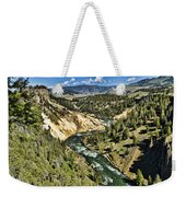 View Of The River Weekender Tote Bag