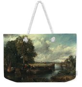 View Of The Stour Near Dedham Weekender Tote Bag