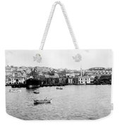 View Of Tophane - Istanbul - From The Sea - Turkey Weekender Tote Bag