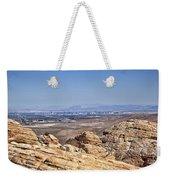 View Of Vegas Weekender Tote Bag