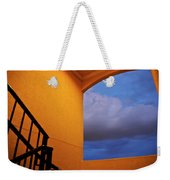 View Through A Stairwell Weekender Tote Bag