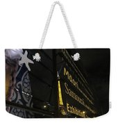View To The Eiffel Tower Weekender Tote Bag