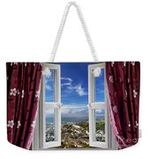 View To The World Weekender Tote Bag