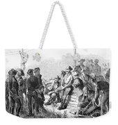 Vigilante Court, 1874 Weekender Tote Bag by Granger
