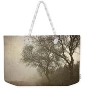 Vigilants Trees In The Misty Road Weekender Tote Bag