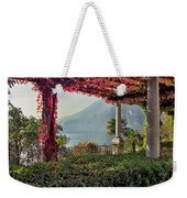 Villa Cipressi Pergola On Lake Como I Weekender Tote Bag