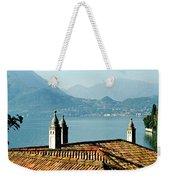 Villa Monastero Rooftop And Lake Como Weekender Tote Bag