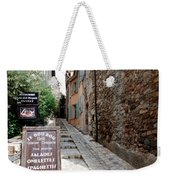 Village Alley Weekender Tote Bag