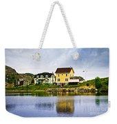 Village In Newfoundland Weekender Tote Bag by Elena Elisseeva