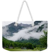 Village In The Alps Weekender Tote Bag