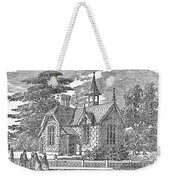 Village Schoolhouse, C1840 Weekender Tote Bag