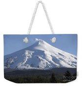 Villarrica, Steaming Crater, Araucania Weekender Tote Bag