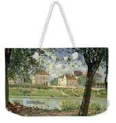 Villeneuve La Garenne Weekender Tote Bag by Alfred Sisley
