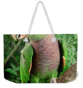 Vinaceous-breasted Parrot Amazona Weekender Tote Bag