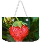 Vine Ripened Strawberry Weekender Tote Bag