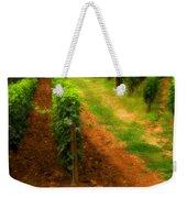 Vineyard In Burgundy France Weekender Tote Bag