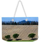 Vineyard On A Hill With Trees Weekender Tote Bag