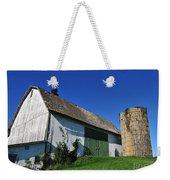 Vintage American Barn And Silo 1 Of 2 Weekender Tote Bag