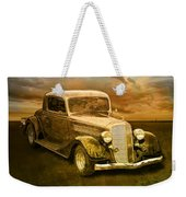 Vintage Automobile No.007 Weekender Tote Bag