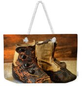 Vintage Baby Shoes Weekender Tote Bag