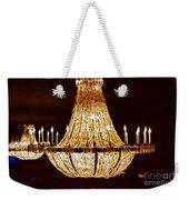 Vintage Ballroom Chandalier Fractal Weekender Tote Bag