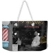 Vintage Barbershop 2 Weekender Tote Bag