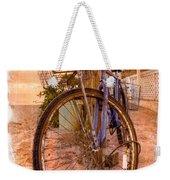 Vintage  Bicycle Weekender Tote Bag