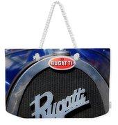 Vintage Bugatti Weekender Tote Bag