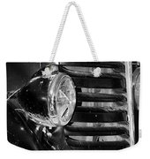 Vintage Car Grill Weekender Tote Bag