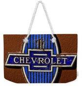 Vintage Chevrolet Emblem Weekender Tote Bag