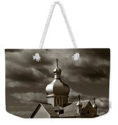 Vintage Church Weekender Tote Bag