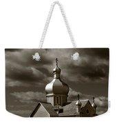 Vintage Church Weekender Tote Bag