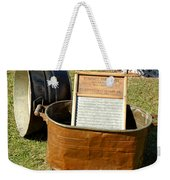 Vintage Copper Wash Tub Weekender Tote Bag