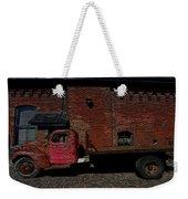 Vintage Distillery Truck Weekender Tote Bag