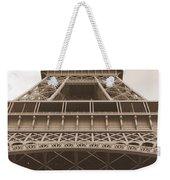 Vintage Eiffel Tower Weekender Tote Bag