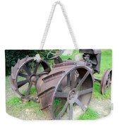 Vintage Farm Tractor Weekender Tote Bag