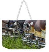 Vintage Frazer Auto Wreck Front Ends Weekender Tote Bag