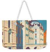 Vintage French Travel Poster Weekender Tote Bag