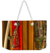 Vintage Gas Pump Nozzle Weekender Tote Bag