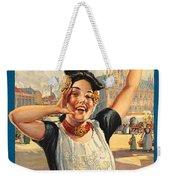 Vintage Holland Travel Poster Weekender Tote Bag