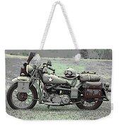 Vintage Iron Weekender Tote Bag