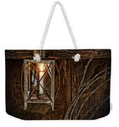 Vintage Lantern Hung In A Barn Weekender Tote Bag