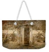 Vintage Looking Old Outhouse In The Great Smokey Mountains Weekender Tote Bag
