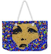 Vintage Mosaic Sign 2 Weekender Tote Bag