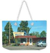 Vintage Motel Weekender Tote Bag